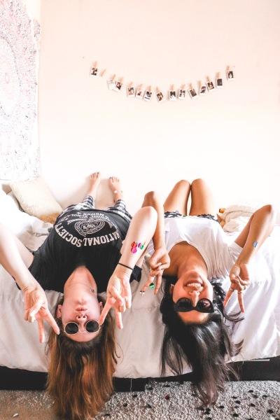 College Roommate Bedroom Photoshoot
