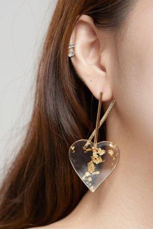 Gold Foil Earrings Storets