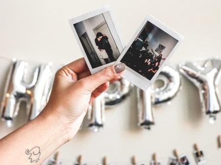 friendship polaroid